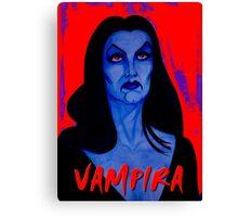 VAMPIRA RED Canvas Print