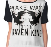 Make way for the Raven King Chiffon Top