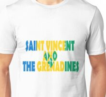Saint Vincent and the Grenadines Unisex T-Shirt
