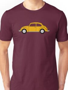 VW Beetle Yellow Unisex T-Shirt