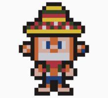 Pixel Amigo One Piece - Short Sleeve