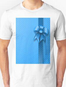 Blue Present Bow T-Shirt