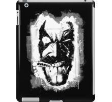 Lobo (w/ Grunge Background) iPad Case/Skin