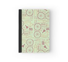 Bicycle Parts Hardcover Journal