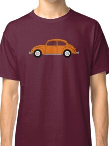 VW Beetle Orange Classic T-Shirt