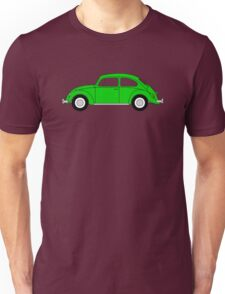 VW Beetle Green Unisex T-Shirt