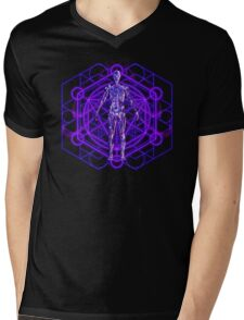 Sacred Geometry and the Human Body Mens V-Neck T-Shirt