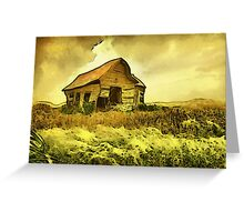 Blow Wind Blow Greeting Card
