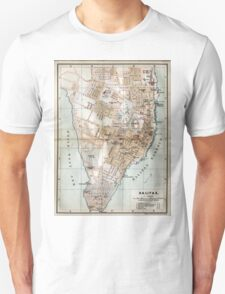Vintage Map of Halifax Nova Scotia (1890)  T-Shirt