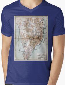 Vintage Map of Halifax Nova Scotia (1890)  Mens V-Neck T-Shirt