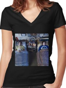 Step Brothers Women's Fitted V-Neck T-Shirt
