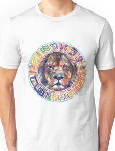 lion Mandala Unisex T-Shirt