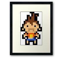 Pixel Kutaro Framed Print