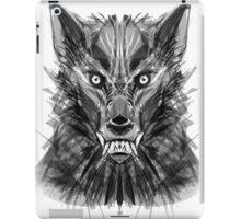 Abstract Wolf iPad Case/Skin