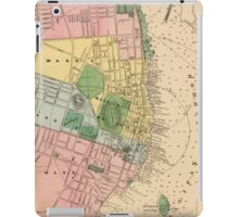 Vintage Map of Halifax Nova Scotia (1878) iPad Case/Skin