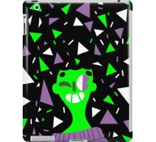 Far Out Triangles! iPad Case/Skin