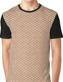 Fishnets and Skin Texture Graphic T-Shirt