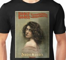 Hurly-Burly Extravaganza and Refined Vaudeville 7 - Courier - 1899 Unisex T-Shirt