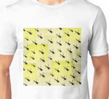 Helifly yellow - Helimosca amarillo Unisex T-Shirt