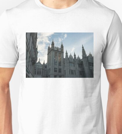 Silver City Architecture - the Magnificent Marischal College at Sunrise Unisex T-Shirt