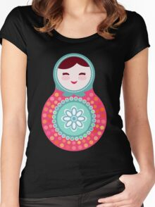 dolls matryoshka Women's Fitted Scoop T-Shirt