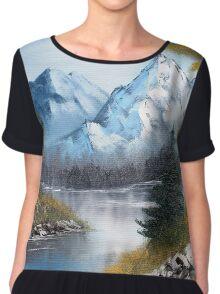 Blue Mountains Chiffon Top