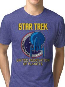 Star Trek Entreprise  Tri-blend T-Shirt
