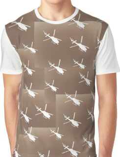 Helifly sepia brown - Helimosca sepia y marron Graphic T-Shirt