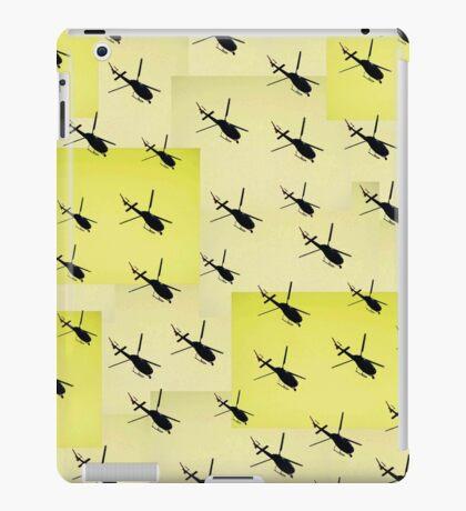 Helifly yellow - Helimosca amarillo iPad Case/Skin