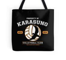 Team Karasuno Tote Bag