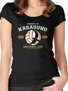 Team Karasuno Women's Fitted Scoop T-Shirt