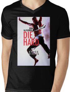 DIE HARD 21 Mens V-Neck T-Shirt