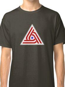 Alien US TriCentennial Flag Patch Classic T-Shirt
