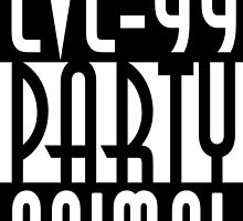 Lvl 99 Party Animal by papabuju