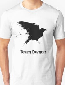 Team Damon: Raven T-Shirt
