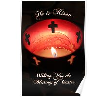Easter ~ Cathedral of St. Augustine Poster