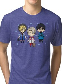 Yuri!!! on Ice Tri-blend T-Shirt