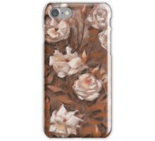 """""""Rose garden"""", classical floral design, earth shades  iPhone Case/Skin"""