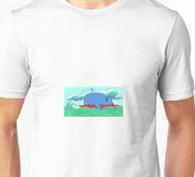 Surfing Whale Unisex T-Shirt