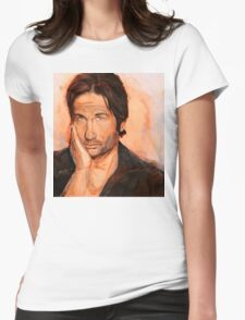 Hank Moody Womens Fitted T-Shirt