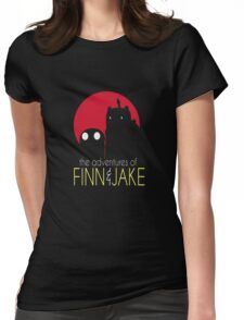 The Adventure Of Finn And Jake Womens Fitted T-Shirt