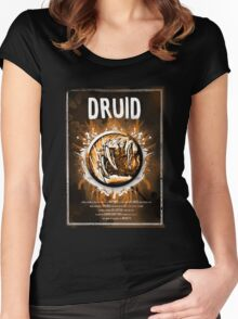 Druid Wow Women's Fitted Scoop T-Shirt