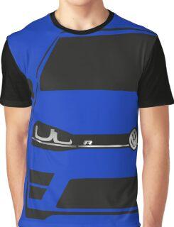 VW MK7 R Black Graphic T-Shirt