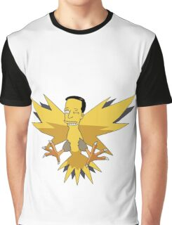 Zzzapdos Graphic T-Shirt