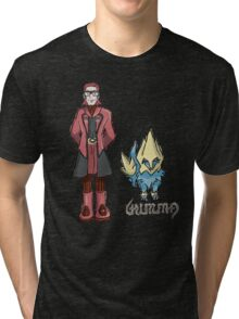 Ember's Maxie and Manectric Tri-blend T-Shirt