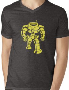 Manbot - Lime Variant Mens V-Neck T-Shirt