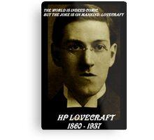 HP LOVECRAFT MEMORY Metal Print