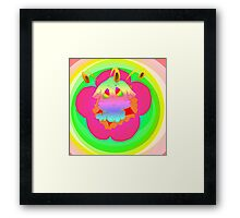 Radioactive Rainbows Bloom Framed Print