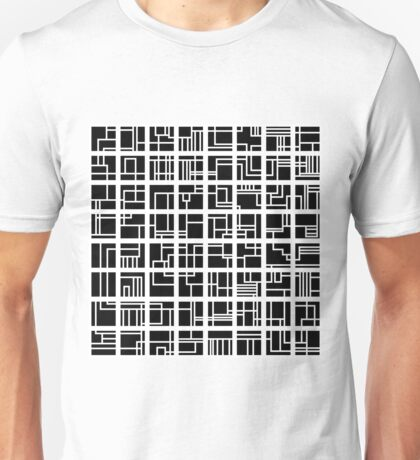 Lines and Squares Unisex T-Shirt