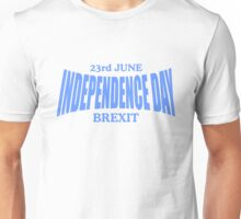 Brexit Independance day Unisex T-Shirt